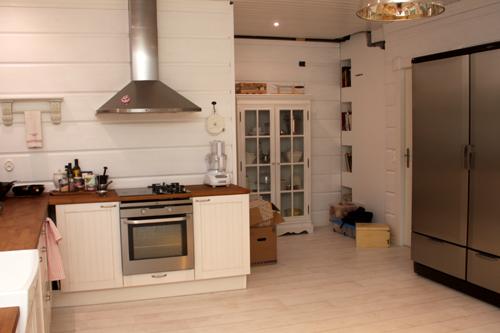 Kuvia keittiöstä  Villa Ainala